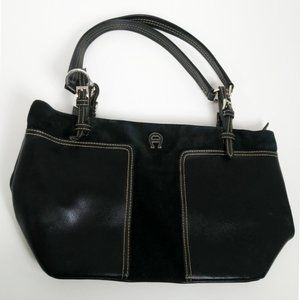 Etienne Aigner shoulder purse black